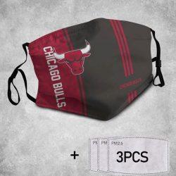 Chicago Bulls 3D Face Mask Full Print