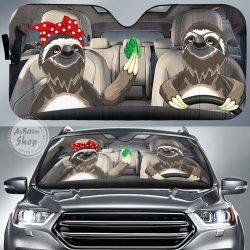 Sloth Auto Sun Shade