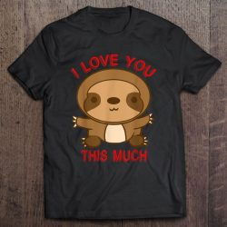 sloth valentines day
