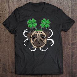 irish pug shirt