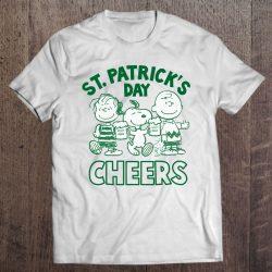 snoopy st patrick's day shirt