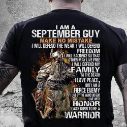 make no mistake i will defend my family shirt