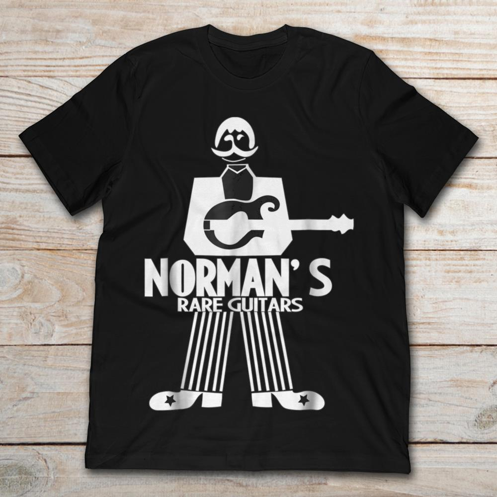 normans rare guitars t shirt