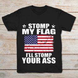 stomp on my flag shirt
