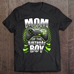 Mom Of The Birthday Boy Matching Video Gamer Birthday Party