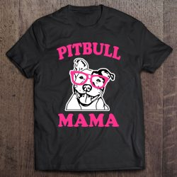 Pitbull Mama Women's Pit Bull Dog Mom Pink