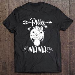 Pittie Mom Design American Pitbull Dog Lover Mothersday Gift