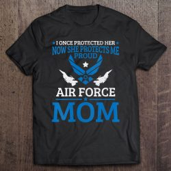 Womens Air Force Mom Pride U.S. Usaf Daughter Proud Mother Gift