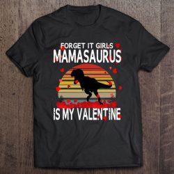 Little Boys Dinosaur Valentines Day Funny Quote Retro Kids