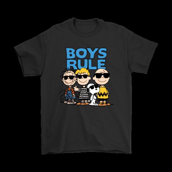 peanuts gang shirt