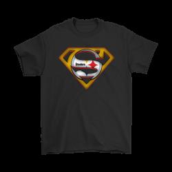 superman steelers shirt