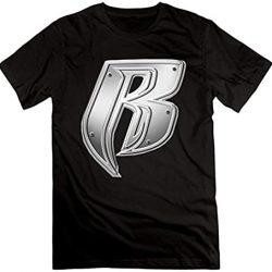 Fashion T-Shirt Men Ruff Ryders Logo T-Shirt