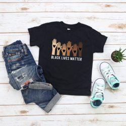 Kids Black Lives Matter Shirt, Children BLM T-Shirt, Kids Equality Shirt, Kids Be Kind Shirt, BLM For Kids, Infant Black Lives Matters