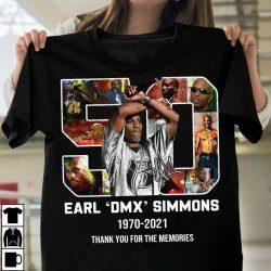 Rip Dmx Shirt DMX Rapper Legends Never Die 2021 Cotton Unisex T Shirt