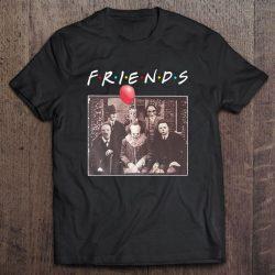 Friends Horror Characters Pennywise Freddy Krueger Jason Voorhees Michael Myers Halloween