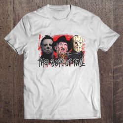 The Boys Of Fall Michael Myers Freddy Krueger And Jason Voorhees
