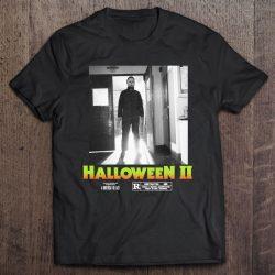 Halloween 2 Michael Myers Doorway Portrait Poster