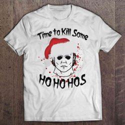 Time To Kill Some Ho Ho Hos Michael Myers Christmas Sweater