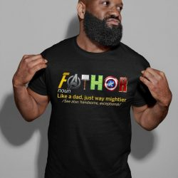 Fathor, Thor, Avengers Shirt, Father's Day Gift, Avengers Men's Shirt, Fathor Definition Shirt, Marvelous Dad Shirt, Superhero Dad Shirt