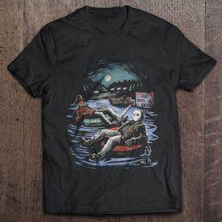 Freddy Krueger & Jason Voorhees On Pool Floaties