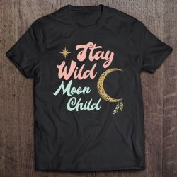 Cute Moon Child Quote Stay Wild Witch