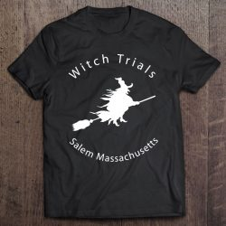 Salem Massachusetts Witch Trial – Flying On A Broom
