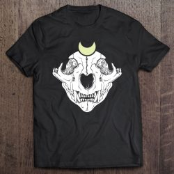 Cat Skull Wicca Wiccan Witch Clothing Pastel Goth Gothic