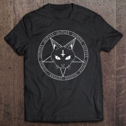 Hail Lucipurr For Goth Witches Grunge Cat Lovers