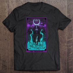 The Morrigan Death Tarot Card Gothic Pagan Witch Triple Moon