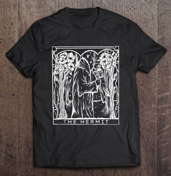 The Hermit Wanderer Seeker Pagan Witchy Goth Tank Top