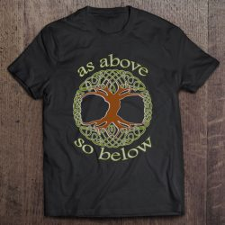 As Above So Below Tree Of Life Witch Wiccan Pagan
