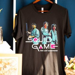 Read the full title Squid Game Shirt/Squid Game K Drama Series t-Shirt/Squid Game Netflix